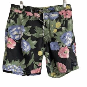 Urban Outfitters B. Cools floral Men's Swim Trunks